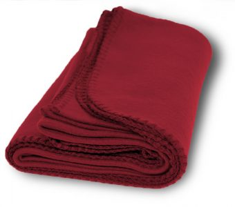 Promo Fleece Blankets-Burgundy