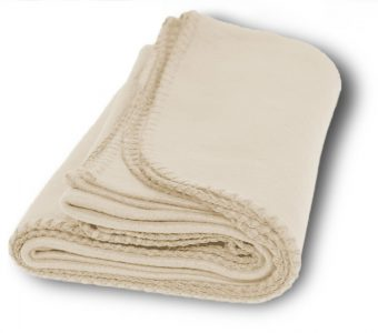 Promo Fleece Blankets-Cream