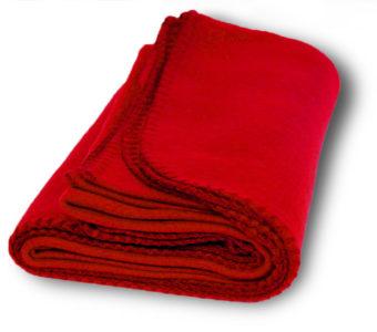 Promo Fleece Blankets-Red