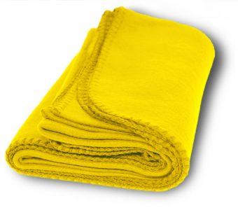 Promo Fleece Blankets-Yellow