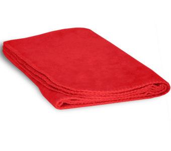 Baby Fleece Blanket-Red