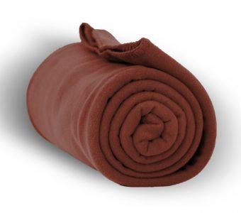 Deluxe Fleece Blanket-Cocoa