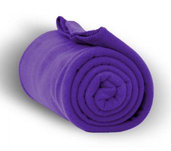 Deluxe Fleece Blanket-Purple
