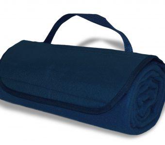 Roll-Up Blanket-Navy