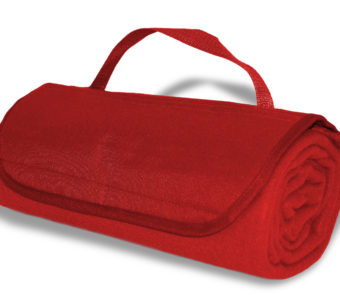 Roll-Up Blanket-Red