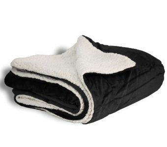 Mink Sherpa-Black