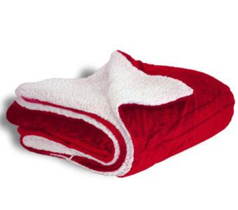 Mink Sherpa-Red