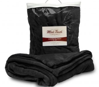 Mink Touch Blanket-Black