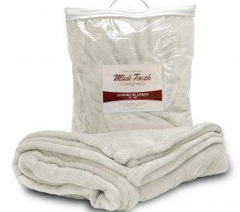 Mink Touch Blanket-Cream