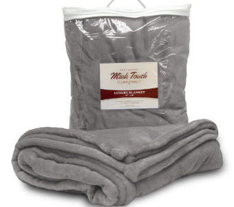 Mink Touch Blanket-Gray