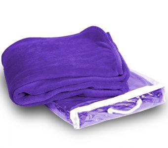 Micro Plush Coral-Purple