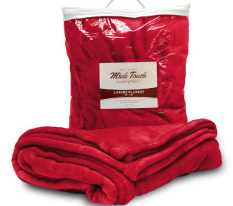 Mink Touch Blanket-Red