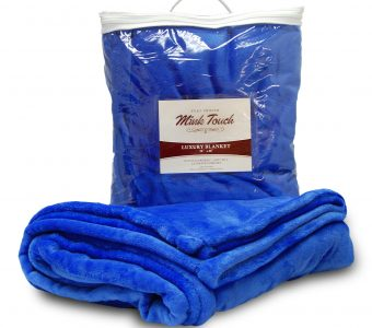 Mink Touch Blanket-Royal