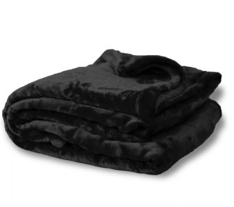 Mink Touch Oversized-Black